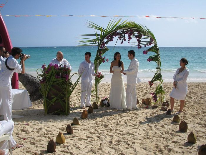 Grand Palladium Punta Cana Complex Wedding At The Beach